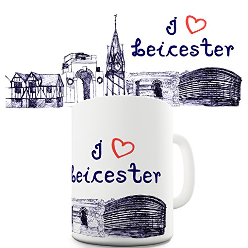 I Love Leicester Novelty Gift Mug