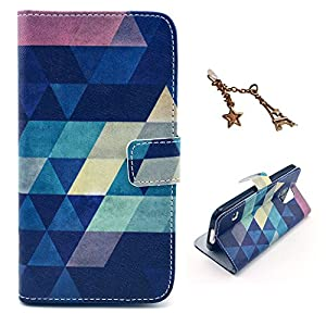 Uming® Retro Colorful Pattern Print PU case for Samsung Galaxy S6Edge