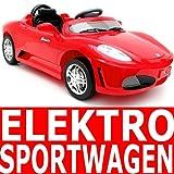 """Elektroauto SPORTWAGEN MP3 Funktion Kinderauto mit Fernbedienungvon """"Bipo-Toys"""""""