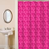 Watercolor Pink Shower Curtain