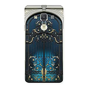 Cute Royal Door Print Back Case Cover for Galaxy A3