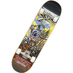 Buy RazorX Blinky Braveheart Skateboard (Small) by RazorX