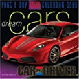 Dream Cars Page-A-Day Calendar 2009 (Colour Page a Day Calendars)