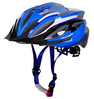 Sports Universal Bicycle Bike Cycling Helmet for Boys/girls/men/women Size M 54-59cm-Blue from HaoJiGuang