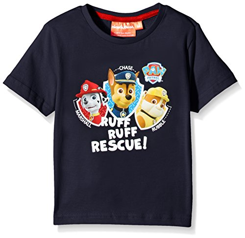 Nickelodeon-Paw-Patrol-camiseta-Nias-Azul-Blue-Blues-3-aos