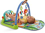 #5: Fisher Price Kick and Play Piano Gym, Multi Color