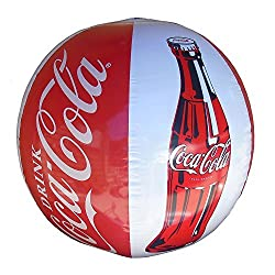 Coca-Cola Blow Up Beach Ball 14 inches