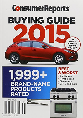 Consumer Reports Buying Guide 201