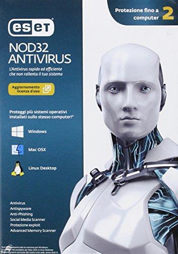 Eset NOD32 Antivirus Versione 7 - 2 Utenti - Rinnovo licenza d'uso