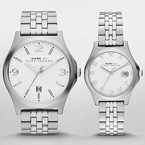 Marc Jacobs Mbm9050 Duo Watch For Him And Her Stainless Steel Analog Watches (2)