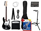 Rocktile Groovers Pack JB E-Bass Set II Black