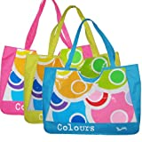 Colour Baby Large Waterproof Fashion Beach Bag