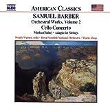 echange, troc  - Barber : Adagio pour cordes, op. 11 - Concerto pour violoncelle, op. 22 - Medea, op. 23