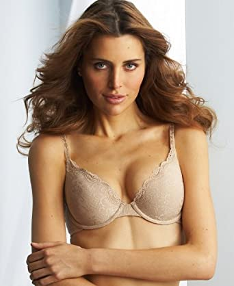 Maidenform Women's One Fabulous Fit Sexy Bra, Body Beige, 38B