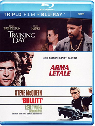 Training day + Arma letale + Bullitt [Blu-ray] [IT Import]