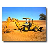 Caterpillar 416C Backhoe Wall Picture 16x20 Art Print