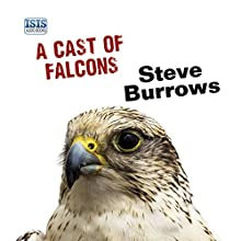 A Cast of Falcons Audiobook by Steve Burrows Narrated by David Thorpe