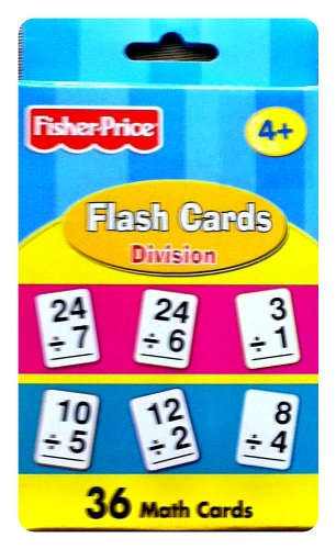 Fisher-Price Flash Cards - Division - 1