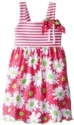 Good Lad Baby Girls' Knit Floral Print Sundress