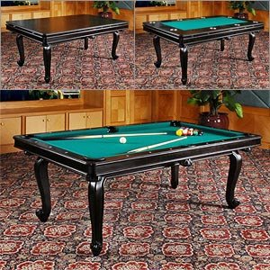 DLT Monterey Game Table Pool, Dining, & Poker 3-in-1