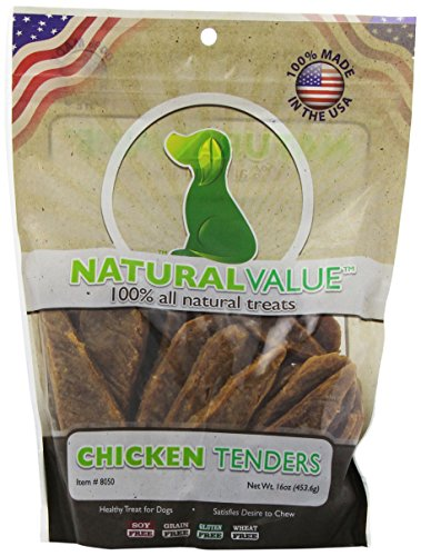 Loving Pets Natural Value All Natural Soft Chew Chicken Tenders Dog Treat, 16-Ounce (All Natural Pet Food compare prices)