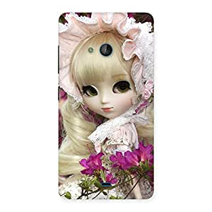 Gorgeous Looks Of Angel Doll Multicolor Back Case Cover for Lumia 540