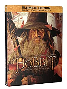 Le Hobbit : Un voyage inattendu [Ultimate Edition - Blu-ray + DVD + Copie digitale - SteelBook Gandalf]