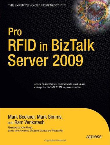 Pro RFID in BizTalk Server 2009