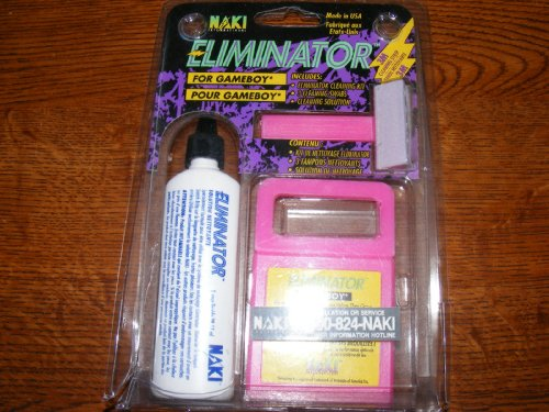 Gameboy Cleaning Kit & Solution