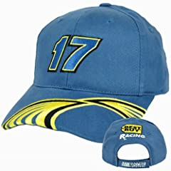 Nascar Best Buy #17 Matt Kenseth Constructed Adjustable Velcro Racing Hat Cap by Best Buy