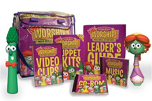 VeggieTales Kids' Worship! Unit 2 - Wild Bible Adventures: For Children's Church or Large-Group Programming