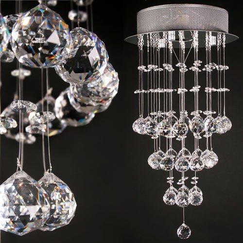 jago lustres lustre en boule de cristal plafonnier lumiaire design ameublement d coration. Black Bedroom Furniture Sets. Home Design Ideas
