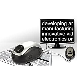 ViSee Electronic Digital Magnifier for TV: Visual/Reading Aide
