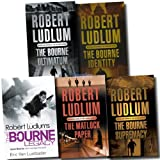 Robert Ludlum Robert Ludlum Trilogy Collection 5 Books Set Pack (The Bourne Trilogy) RRP: £ 34.95 (The Bourne Identity, The Bourne Ultimatum, The Bourne Supremacy, The Matlock Paper and The Bourne Legacy)