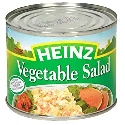 Heinz Vegetable Salad, 6.9-Ounce Can (Pack of 6)