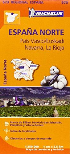 Mapa Regional País Vasco/Euskadi, Navarra, La Rioja (Carte regionali)
