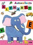 Autocollants Alphabet : Eléphant - De 3 à 6 ans