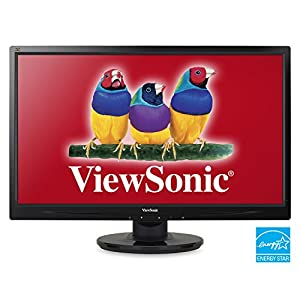 ViewSonic VA2445M-LED 24-Inch Screen LED-Lit Monitor by ViewSonic