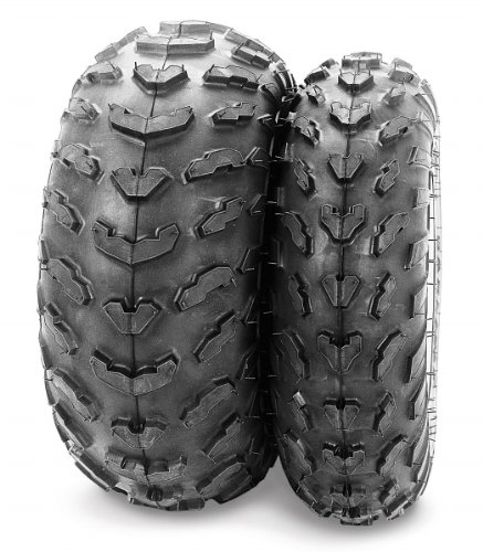 Carlisle Trail Wolf Tire - Front - 22x7x10 - Position Front - Tire Size 22x7x10 - Rim Size 10 - Tire Ply 2 - Tire Type ATV UTV - Tire Construction Bias - Tire Application All-Terrain 537048