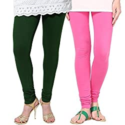 Jiya Decor Women Regular Fit Leggings (Pack of 2)