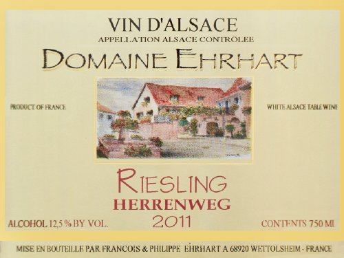 2011 Ehrhart Riesling, Herrenweg 750 Ml