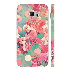 Enthopia Designer Hardshell Case Flowery Summer Back Cover for HTC One M10