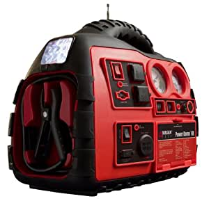 Wagan 2485 200-Watt Power Dome NX Jump Starter & Emergency Power Source with Built-In Air Compressor