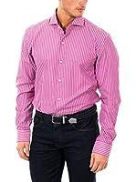 McGregor Camisa Hombre Bo Cadore Basto 4 Tf Ls (Magenta)