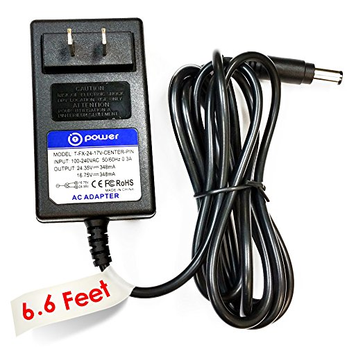 T-Power ((6.6 ft long cord)) Ac Dc adapter for 24V Dyson Exclusive DC30 DC31 DC30 DC34 DC35 DC44 DC45 DC56 DC57 Animalpro / DC45 Up Top / DC45 P/N : 917530-01 917530-02 917530-11 / 17530-02 Animal Vacuum HANDHELD VACUUM CLEANER BATTERY Replacement switching power supply cord charger wall plug spare (Dyson Vacuum Cleaner Dc59 compare prices)