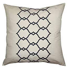 Product Image Dupioni Fret Work Pillow