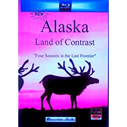 Alaska Land of Contrast HD [Blu-ray]