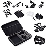 MCOCEAN-Accessories-Set-for-GoPro-Hero-4-3-Plus-3-2-and-Camera-33-Items