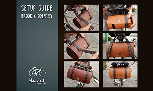 Hazel Design - Vintage Bicycle Saddle Tools Bag 3