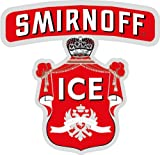 Smirnoff Ice Alcohol Drink Logo Car Bumper Sticker Decal 12 x 12 cm